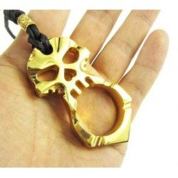 KA1.2 Self Defense Protection metal key ring - Brass Knuckles