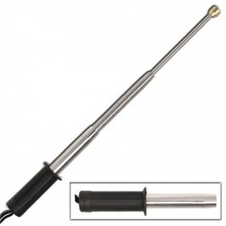 TF1.0 Flexibele telescopische wapenstok met rubberen handvat - 47 cm
