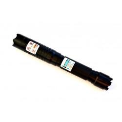 L02 Blauwe laser pointer - Blue Laserpen met 5 nozzles