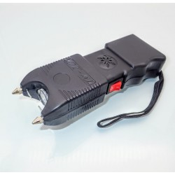 S12 Stun Gun + LED Flashlight + Alarm 120db - 3 in 1