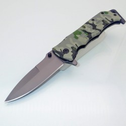 PK15 Knife - One Hand Knife Semiautomatic - Pocket Knives