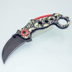 PK21 KARAMBIT - One Hand Knife Semiautomatic - Pocket Knives