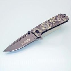 PK9 Knife - One Hand Knife Semiautomatic - Pocket Knives