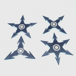 TS12 Set Throwing stars. Ninja star. Shurikens - 4
