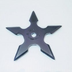 TS5.0 Throwing stars. Ninja star. Shurikens - 5 - Black
