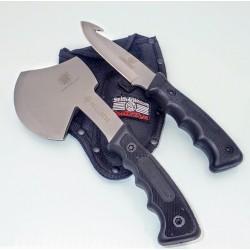 SS2 Set for Survival Bullseye Hatchet & Hunting Knife Combo
