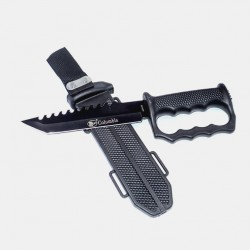 HK14 Super Hunting Knife & Brass Knuckles - 31 cm