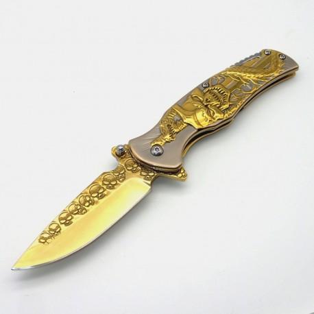 PK62 One Hand Knife - Pocket Knife