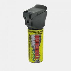 P27 ESP Pepper Spray Flashlight POLICE TORNADO for professionals - 50 ml